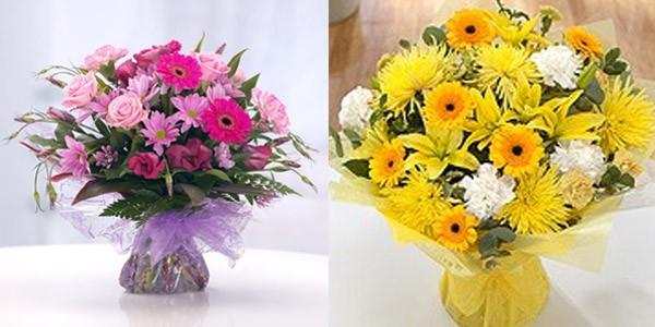 Aquapack and Bouquets